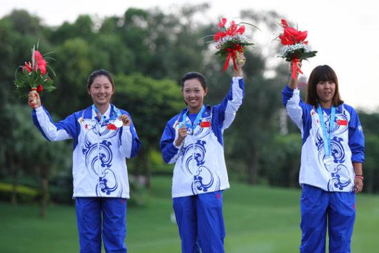 徐乐(左一)获得世界大学生运动会团体亚军