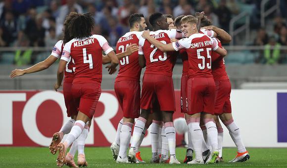 $欧联杯-小将破门 阿森纳客场3-0胜