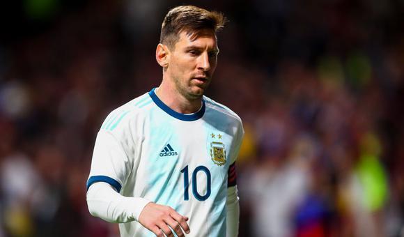 $热身赛-梅西回归 阿根廷1-3落败