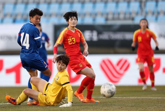 张馨参加了东亚杯