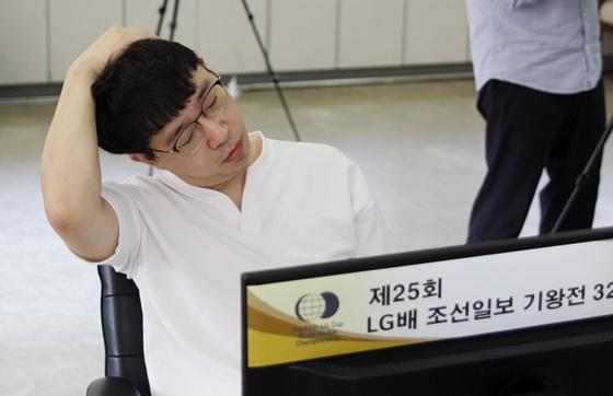 元晟溱第12次打入LG杯本赛 35岁的他仍在坚持