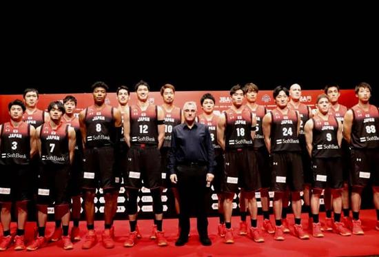日本男篮公布16人名单 八村塁和华裔球员在列