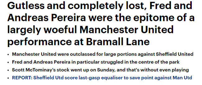 英媒痛批两位巴西中场十足迷失