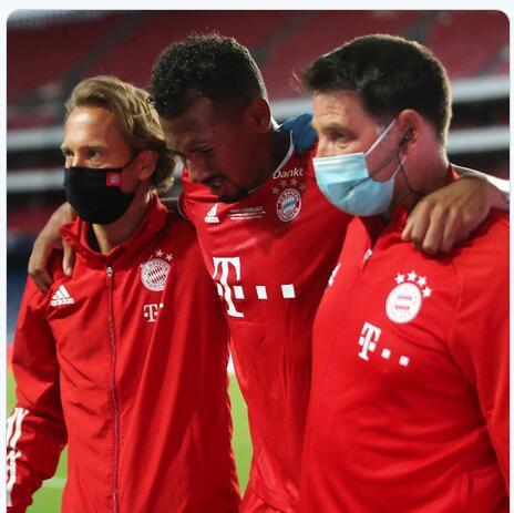 拜仁官方宣布博阿滕大腿肌肉撕裂 恢复时间未定