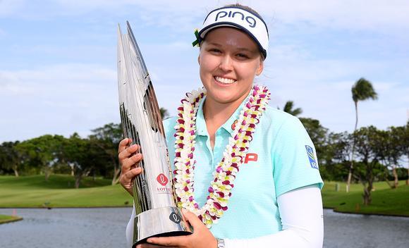 LPGA夏威夷锦标赛亨德森夺冠 冯珊珊T3