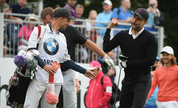 欧洲PGA锦标赛配对赛 瓜迪奥拉卡里克亮相