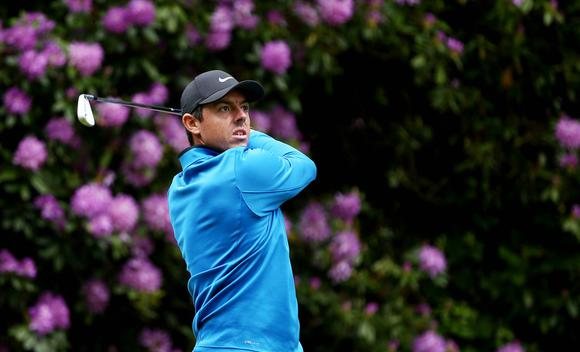 欧洲PGA锦标赛第一轮 麦克罗伊并列第四