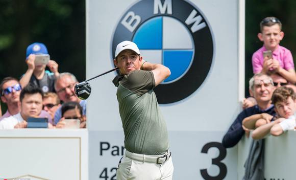 欧洲PGA锦标赛第三轮 麦克罗伊并列领先
