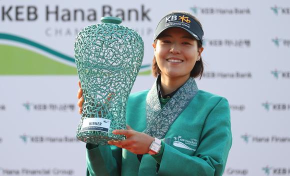 田仁智赢韩亚银行锦标赛冠军