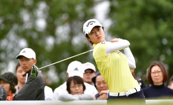 别克LPGA锦标赛第三轮 刘钰跻身前十
