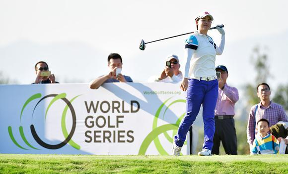 中国女子公开赛李旻领先冲冠