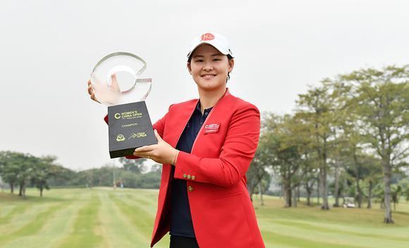 李旻赢中国女子公开赛冠军