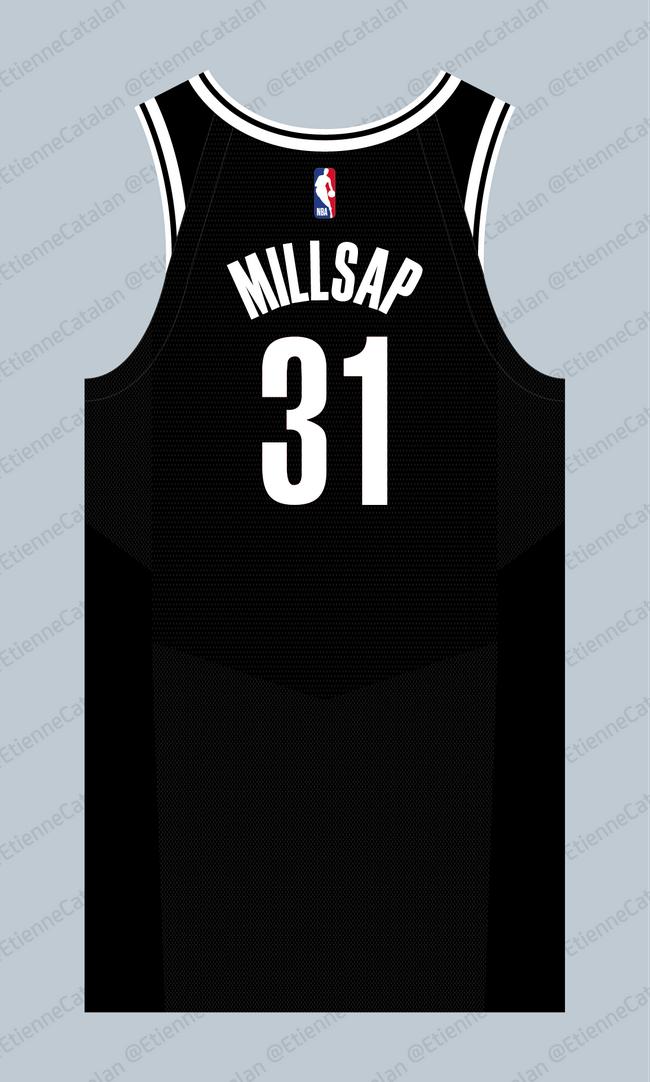 米尔萨普新赛季球衣曝光 生涯首穿31号亮相