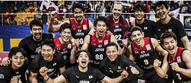 日本队获得男篮世界杯席位