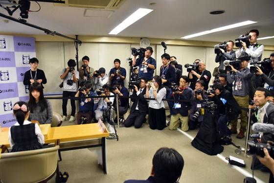 日本媒体重点关注黑嘉嘉七段和仲邑堇的对局。