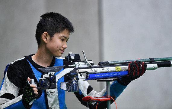 少年枪手盛李豪张雨出战欧锦赛 进军奥运还差一步