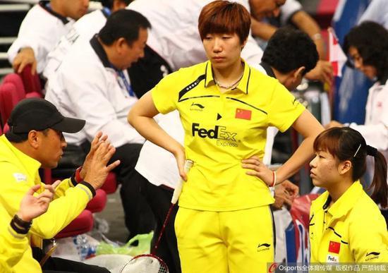 国羽名宿王晓理:年轻运动员要珍惜比赛的机会