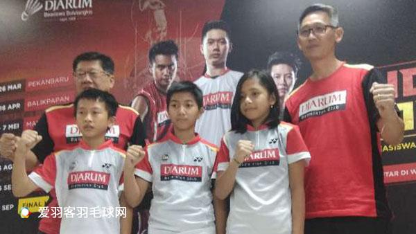 印尼海选羽球青少年人才 近6000人报名221人中选