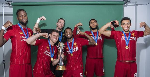 利物浦夺得世俱杯