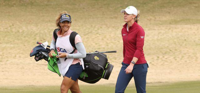 美国女子公开赛争冠者奥尔森遇挫 公公突然去世