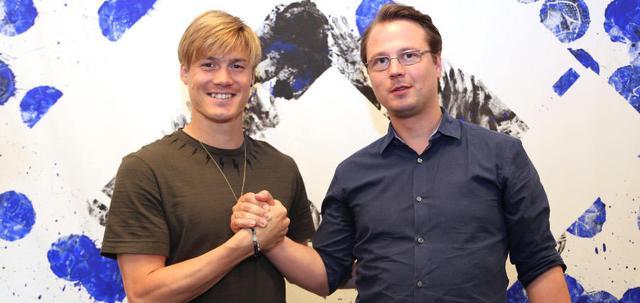 汉堡宣布续约日本名将!已被任命为球队队长