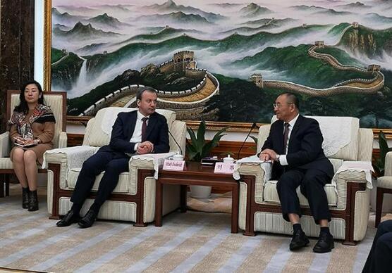 双方领导正式会晤