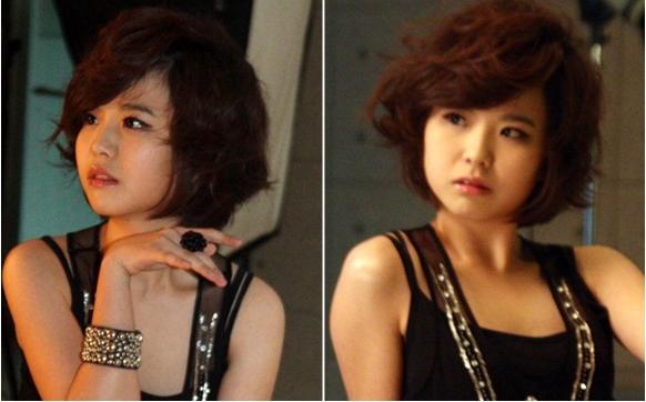 韩国美女棋手李瑟娥