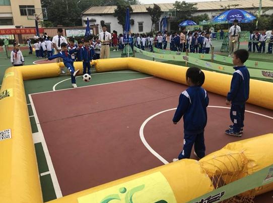 《¨活动》中学生阳光体育足球教学训练成果展