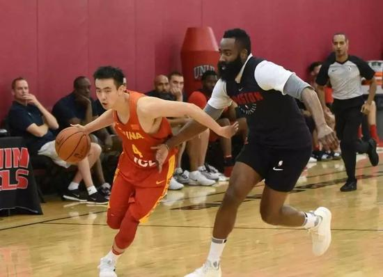 中国男篮参加夏季联赛