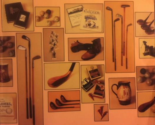 《高尔夫收藏百科全书》(Encyclopedia of Golf Collectibles) 封面