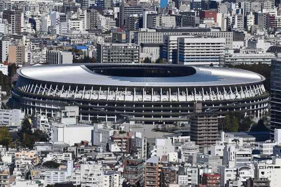 东京奥运会主场馆国立竞技场竣工