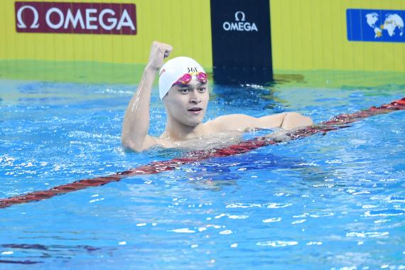 外媒预测奥运游泳冠军 孙杨成400自最大夺金热门