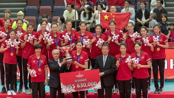 中国女排卫冕世界杯