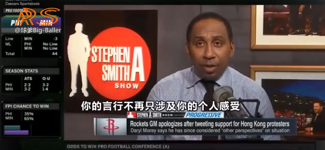 【影片】美國名嘴怒批莫雷:他害了火箭和NBA,有些事情不能碰,他愧對姚明的貢獻!