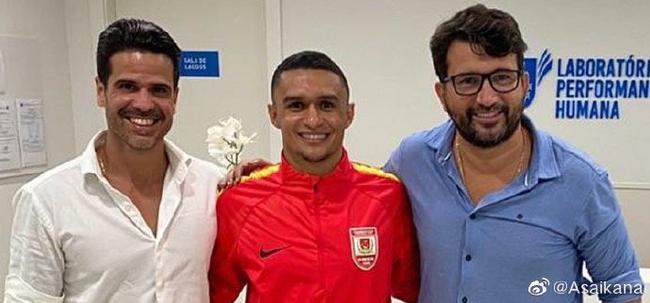 巴西前锋加盟亚泰签约三年 曾效力横滨水手进24球