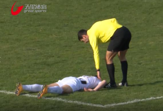 视频-绿茵悲剧!克罗地亚球员被击中胸部猝死