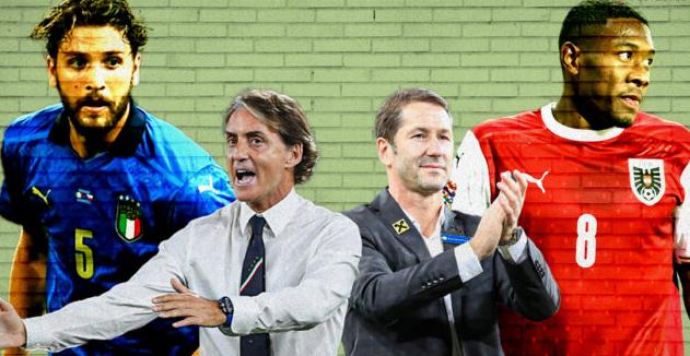 歐洲杯1/8決賽 意大利vs奧地利