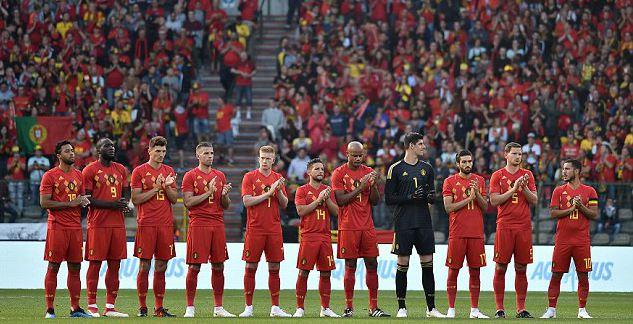 比利时首发11人