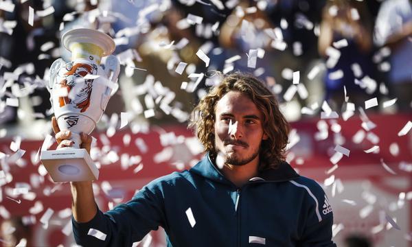 高清-埃斯托利尔赛西西帕斯夺赛季第二冠