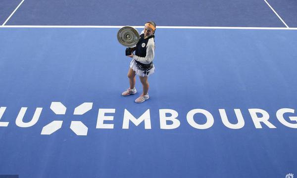 高清-卢森堡赛奥斯塔彭科夺冠 破两年冠军荒