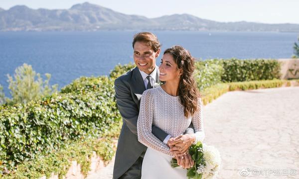 高清-纳达尔与女友正式步入婚姻殿堂