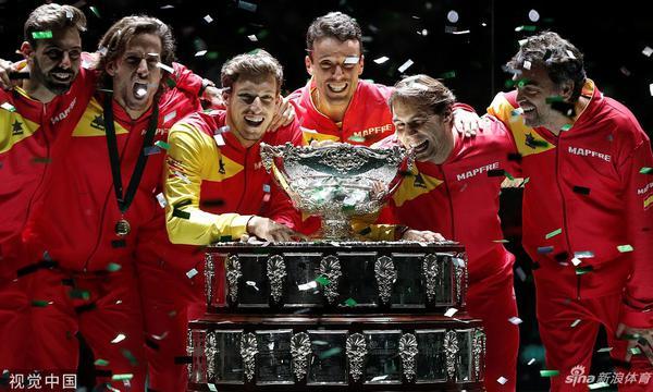 高清-戴维斯杯西班牙2-0夺得冠军