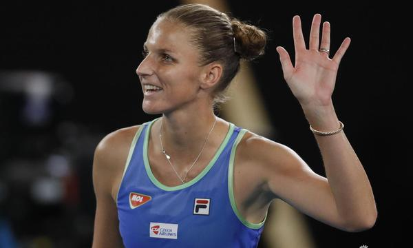 高清-新浪直击卡-普娃晋级澳网32强