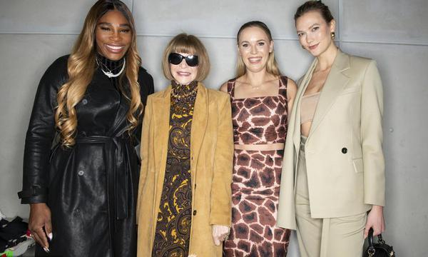 高清-小威服装品牌亮相纽约时装周