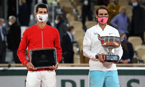 高清-法网颁奖|纳达尔夺大满贯第20冠
