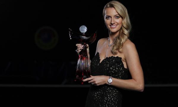 高清-科娃当选捷克年度最佳网球选手