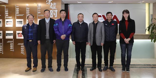寧夏體育局局長撒承賢到訪排球中心