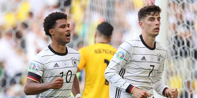 德国4-2逆转葡萄牙 C罗传射哈弗茨破门