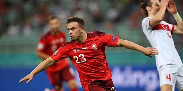 瑞士3-1送土耳其出局 沙奇里梅开二度
