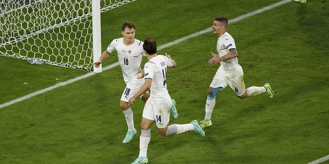 意大利2-1淘汰比利時 巴雷拉傳射